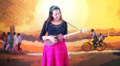 Performing in McLeod Ganj